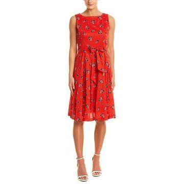 Anne Klein Womens A-Line Dress