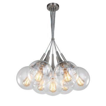 Woodbridge Lighting 19227STNWL-C00815 Alicia 7-Light Tight Pendant Cluster w/ ST64 Bulb