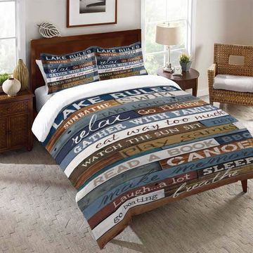 Laural Home Rules of the Lake Comforter
