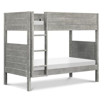Fairway Twin-over-Twin Bunk Bed, Cottage Gray