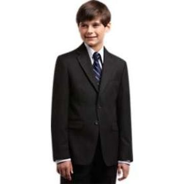Joseph & Feiss Boys Black Suit Separates Coat