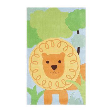 The Rug Market Kids collection 5 x 8 ed Animal Print Kids Area Rug   74011D