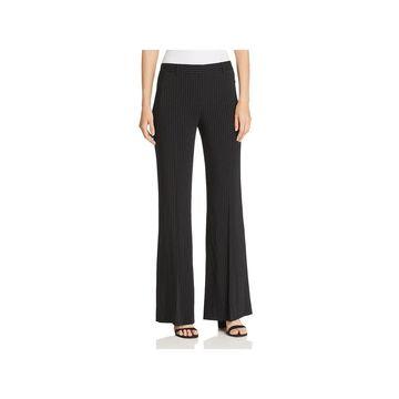 Kobi Halperin Womens Pants Pinstripe Flare - 6