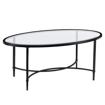 Southern Enterprises Quinton Oval Coffee Table