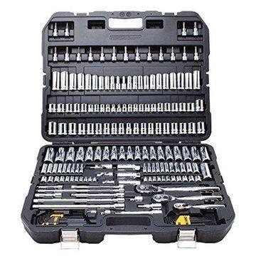 ''DEWALT DWMT75049 Mechanics Tools Set Easy One-Hand Operation (192 Piece), New''