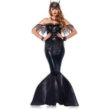 Leg Avenue Women's Black Goth Mermaid Costume