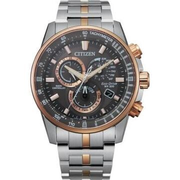 Citizen Eco-Drive Men's Pcat Two-Tone Stainless Steel Bracelet Watch 43mm - A Limited Edition