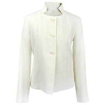 Issey Miyake Ecru Cotton Jackets