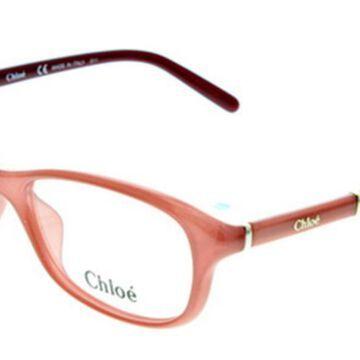 Chloe CE 2645 626 Womenas Glasses Pink Size 54 - Free Lenses - HSA/FSA Insurance - Blue Light Block Available