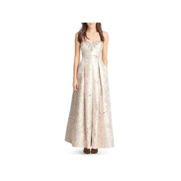 Eliza J Womens Formal Dress Metallic Strapless