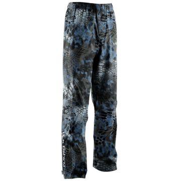 Huk Men's Camo Packable Small Kryptek Neptune Packable Fishing Rain Pants