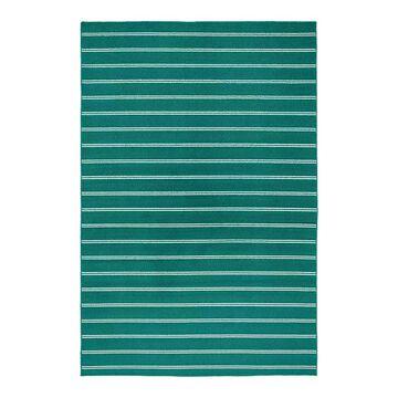Garland Rug Avery Striped Rug, Blue, 7X10 Ft