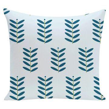 Petal Pusher Floral Print Throw Pillow (16
