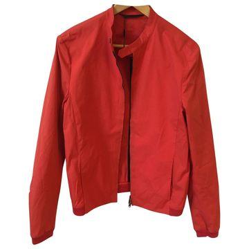 Costume National Orange Cotton Jackets