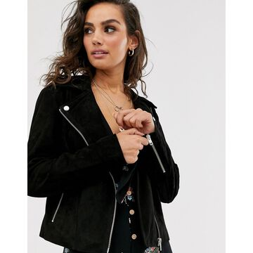 Y.A.S suede jacket-Black