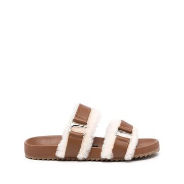 Dalley shearling sandals