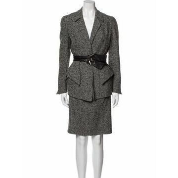 Vintage 1990's Skirt Suit Wool