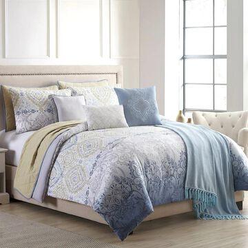 Amrapur Overseas Angelica 10-Piece Comforter and Coverlet Set