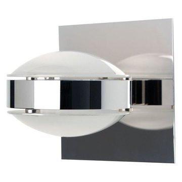 Besa Lighting OPTOS1W-FRFR Optos Wall Sconce, Chrome