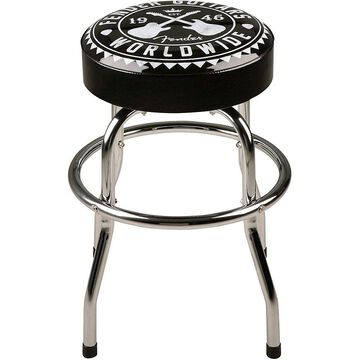 Fender Worldwide 24 in. Barstool 24 in. Black