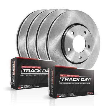 Power Stop TDBK1548 TRACK DAY BRAKE KIT -Front & Rear