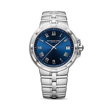 Raymond Weil Parsifal Blue Dial Watch, 41mm