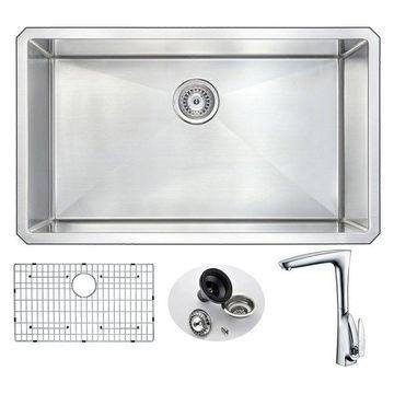 ANZZI VANGUARD Series KAZ3219-034 Kitchen Sink