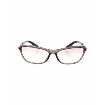 Cat-Eye Gradient Sunglasses Brown