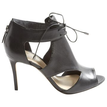 Alexandre Birman Black Leather Heels