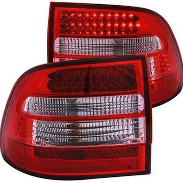 Anzo USA LED Tail Lights in Red/Clear, LED Tail Lights - 321170