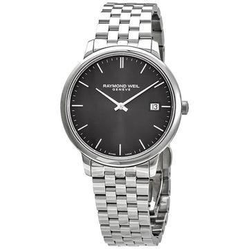 Raymond Weil Toccata Quartz Grey Dial Men's Watch 5485-ST-60001