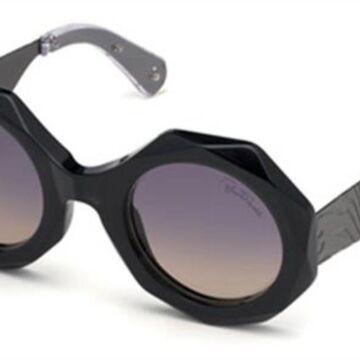 Roberto Cavalli RC 1113 20C Womenas Sunglasses Grey Size 53