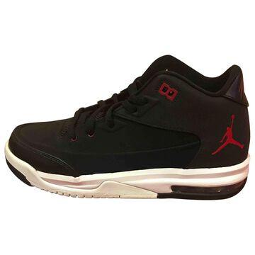 Jordan \N Black Leather Trainers
