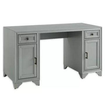 Crosley Tara Desk in Distressed Grey