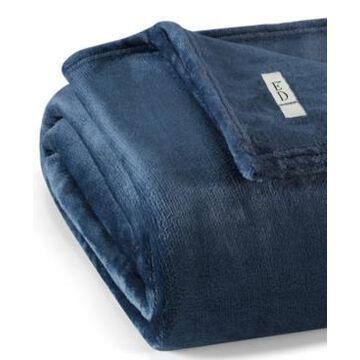Ed Ellen Degeneres Ultra Soft Plush Solid Throw Bedding