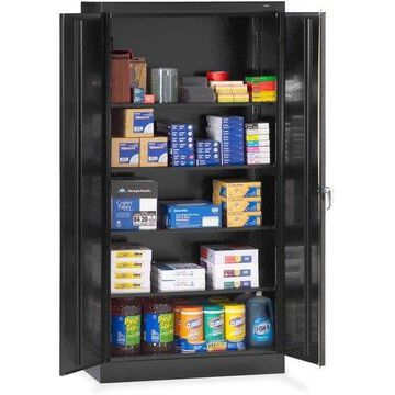 Tennsco - 1470BK - 72 High Standard Cabinet, 36w x 18d x 72h, Black