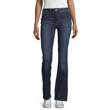 Ymi Womens High Waisted Skinny Fit Flare Jean - Juniors