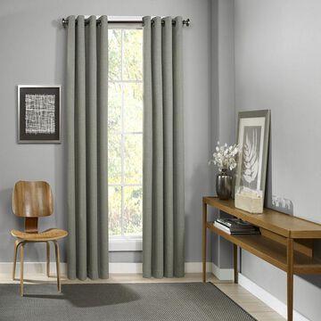Eclipse Palisade Blackout Grommet-Top Curtain Panel