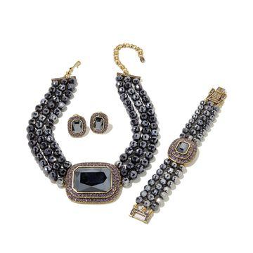 Heidi Daus Tailored to Please Jewelry Wardrobe Set