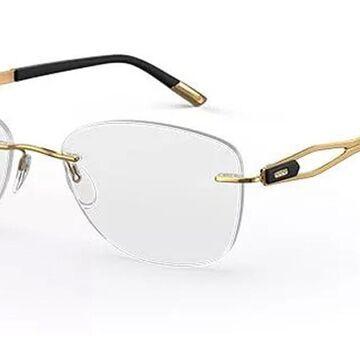 Silhouette Crystal Grace 5527 FX 7520 Womenas Glasses Gold Size 51 - Free Lenses - HSA/FSA Insurance - Blue Light Block Available
