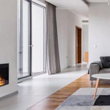 Cambridge 23 in. Freestanding Fireplace Insert, CAM23INS-1BLK