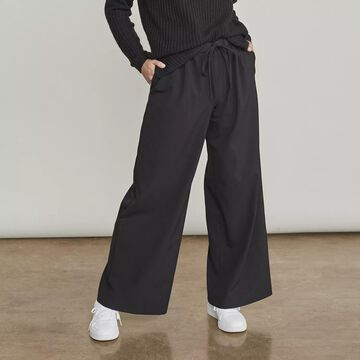 Women's Elizabeth and James Wide-Leg Pull-On Drawcord Trouser Pants