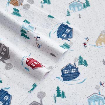 London Fog Cotton Flannel Sheet Set
