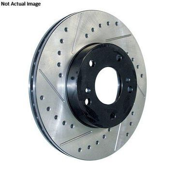 StopTech 127.45069R StopTech Sport Rotors; Drilled And Slotted; Front Right;11.81 in. Dia.; 1.92 in. Height;