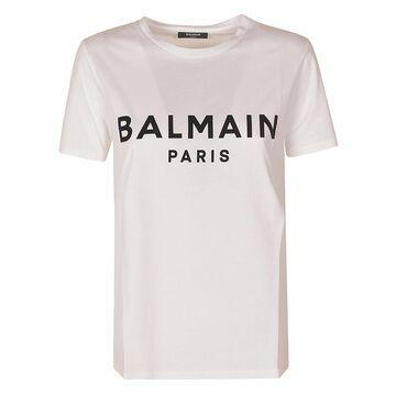 Balmain Regular Logo Print T-shirt