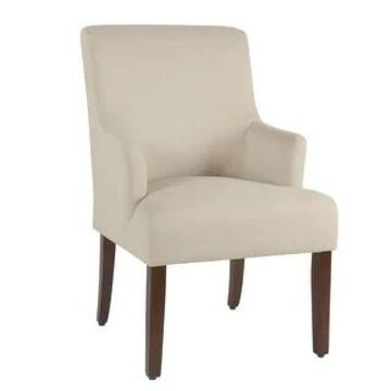 HomePop Meredith Anywhere Chair - Stain Resistant Cream Fabric (Cream)