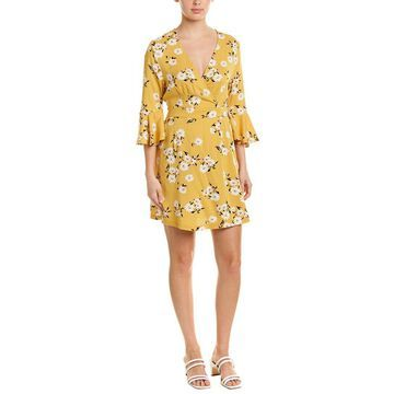 Minkpink Womens Floral A-Line Dress