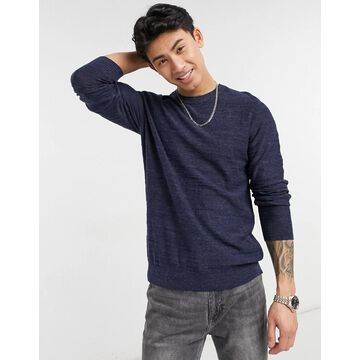Selected Homme crew neck sweater-Blues