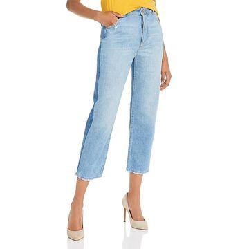 DL1961 Womens Jerry Straight Leg Jeans High Rise Denim - Dalida