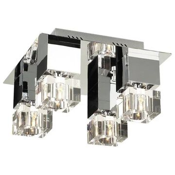 PLC Lighting 81234PC 4-Light Ceiling Light Charme Collection